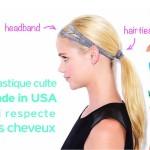 Lange Haare schonend bändigen – mit elastischen Twistbands