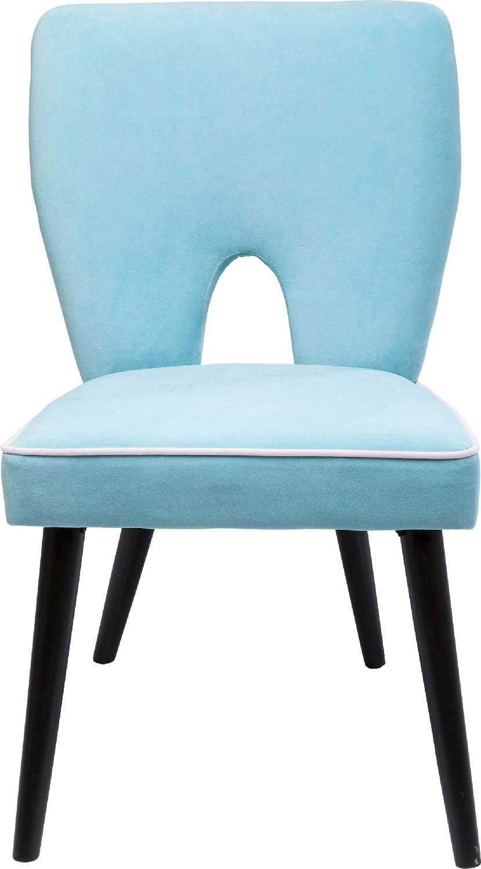 Stuhl hellblau