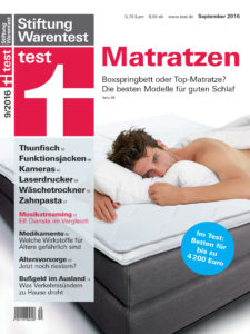 stiftung warentest wertet boxspringbetten ab m bel. Black Bedroom Furniture Sets. Home Design Ideas