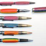 Handgedrechselte Füller als ausgefallenes Geschenk